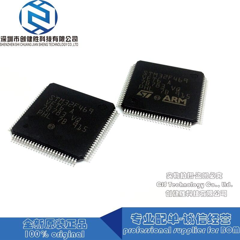 100% original stm32f469vet6 stm32f469ve stm32f469 stm32f469v qfp circuito integrado apoio citação bom