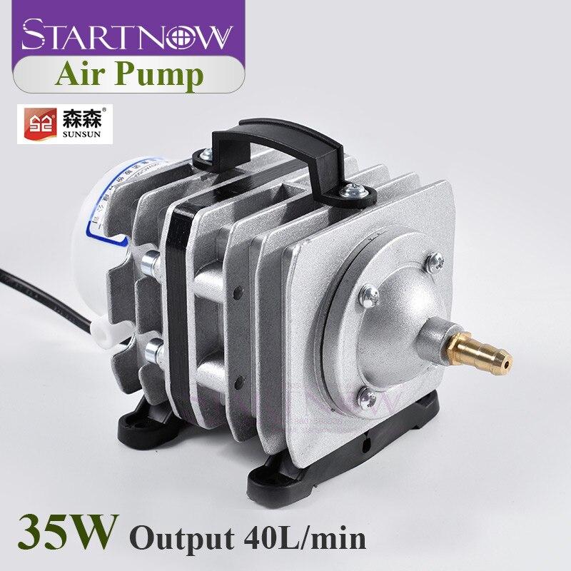35W 40L/Min Electrical Magnetic 220V SUNSUN ACO-002 Air Compressor Pump For Home Aquarium Aerator Aquaculture Fish Farming