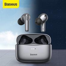 Baseus-auriculares inalámbricos S2 TWS, auténticos, ANC, con cancelación activa de ruido, Bluetooth, compatible con carga inalámbrica