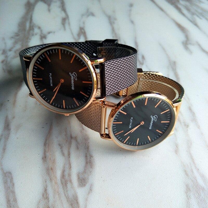 top luxury brand GENEVA Fashion Classic Women Watch Quartz Stainless Steel Wrist Watch Bracelet Watches Women Business relogio feminino reloj best gifts wholesale (5)