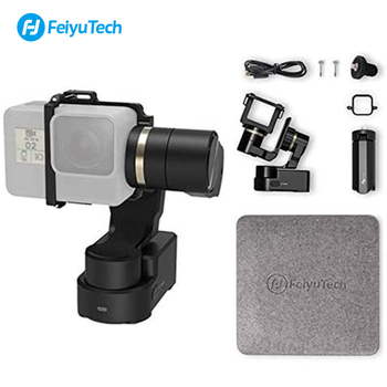 FeiyuTech Official WG2X Action Camera Gimbal Stabilizer Wearable Mountable for GoPro Hero 8 7 Sony RX0 Yi 4k
