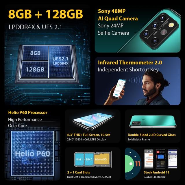 Смартфон UMIDIGI A9 Pro