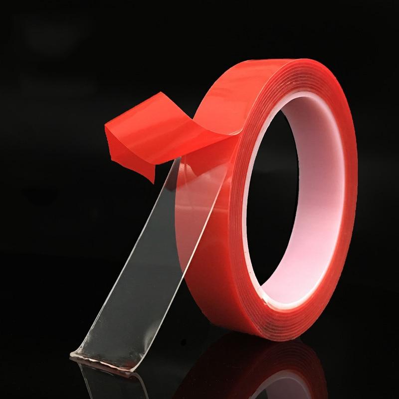 3M Washable Reusable Double-Sided Tape Transparent Magic Acrylic Tape Adhesive Nano Traceless Sticker Stationery