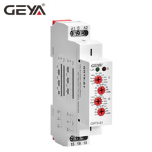 Free Shipping GEYA GRT8-S Asymmetric Cycle Timer Relay SPDT 220V 16A  AC/DC12V-240V Electronic Repeat Relay цены онлайн