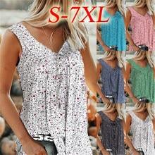 Big Size Women Summer T shirts Casual Sleeveless Tops Tees S