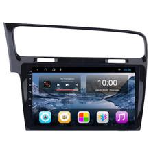 Dla VW Golf 7 MK7 VII 2013 2014 2015 2016 z systemem Android 10 czterordzeniowy Autoradio samochodowy Radio Stereo nawigacja multimedialna GPS odtwarzacz tanie tanio RoverOne CN (pochodzenie) Double Din 10 1 4X45W 128G Jpeg Plastic+ABS 1024X600 Bluetooth Wbudowany gps Nadajnik fm Telefon komórkowy