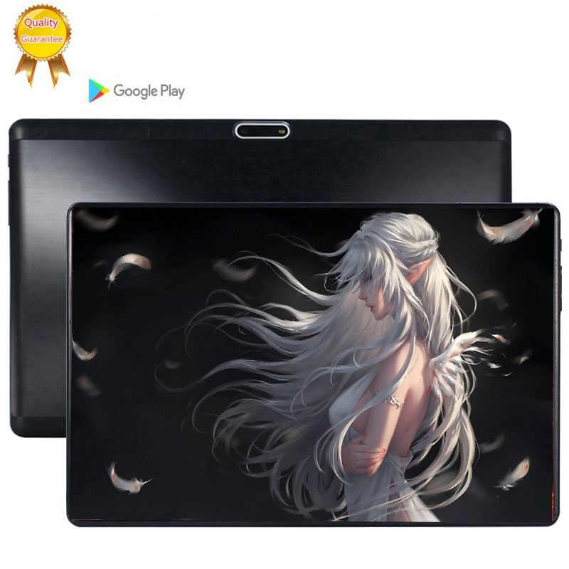 Multi-touch 2.5D Tempered Screen 10 Inch Octa Core 3G FDD LTE Tablet 6GB RAM 128GB ROM Dual Cameras Android 9.0 Tablet 10.1 Pc