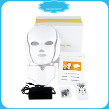 Fototerapia Led Photon Skin Rejuvenation Mask Mascara Facial Acne Spectrometer Mascara Facial Light Therapy Mask