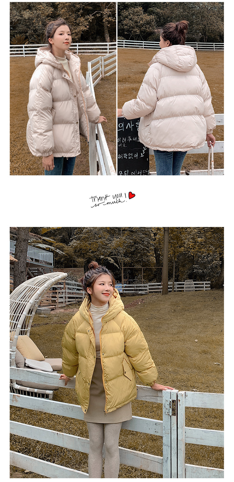 2020 new Women Parkas jacket Fashion solid thick warm winter hooded jacket coat winter parkas solid outwear jacket