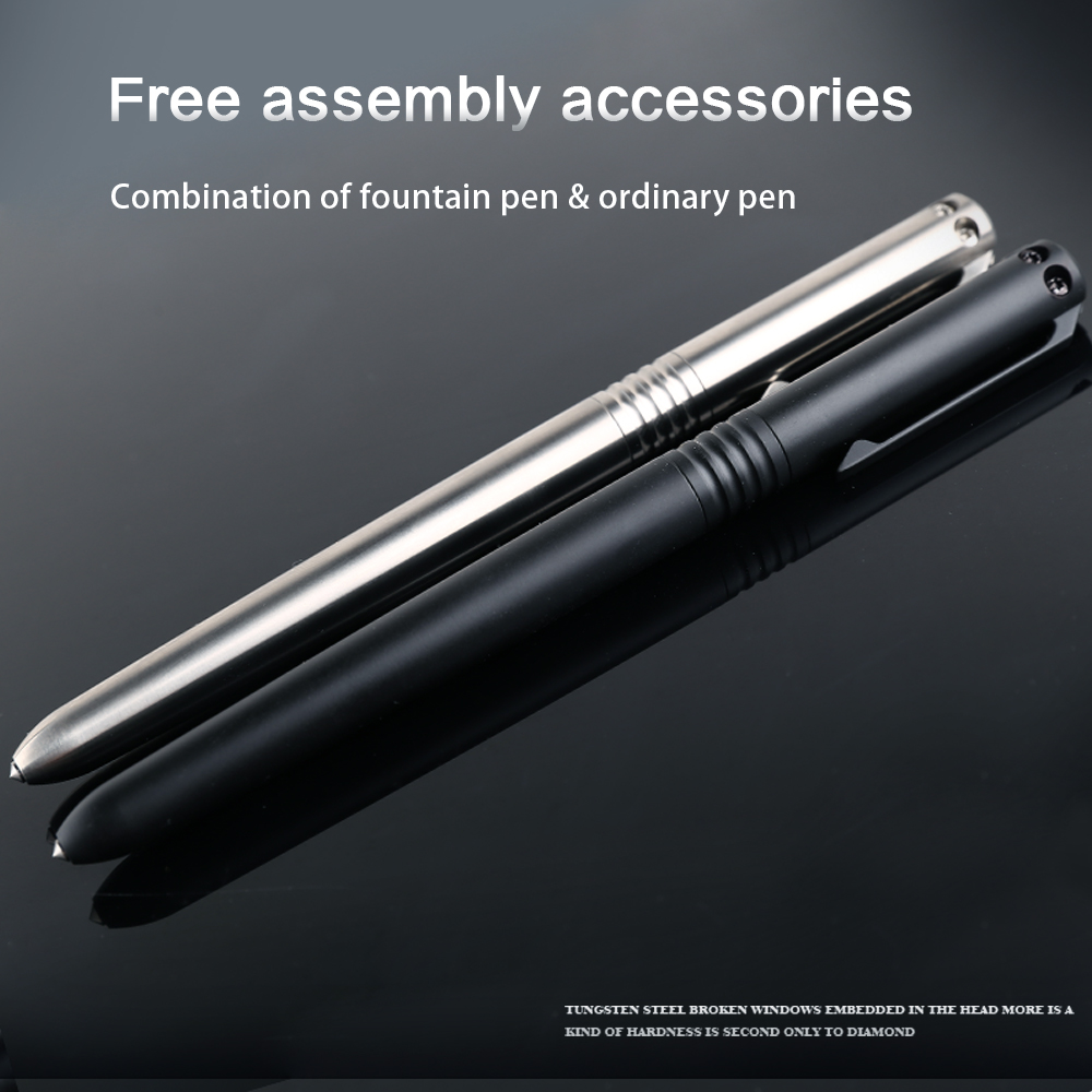 Broken Pen Tactical High Tool Titanium Multi Function Safety Defense Pen Outdoor Hardness Window