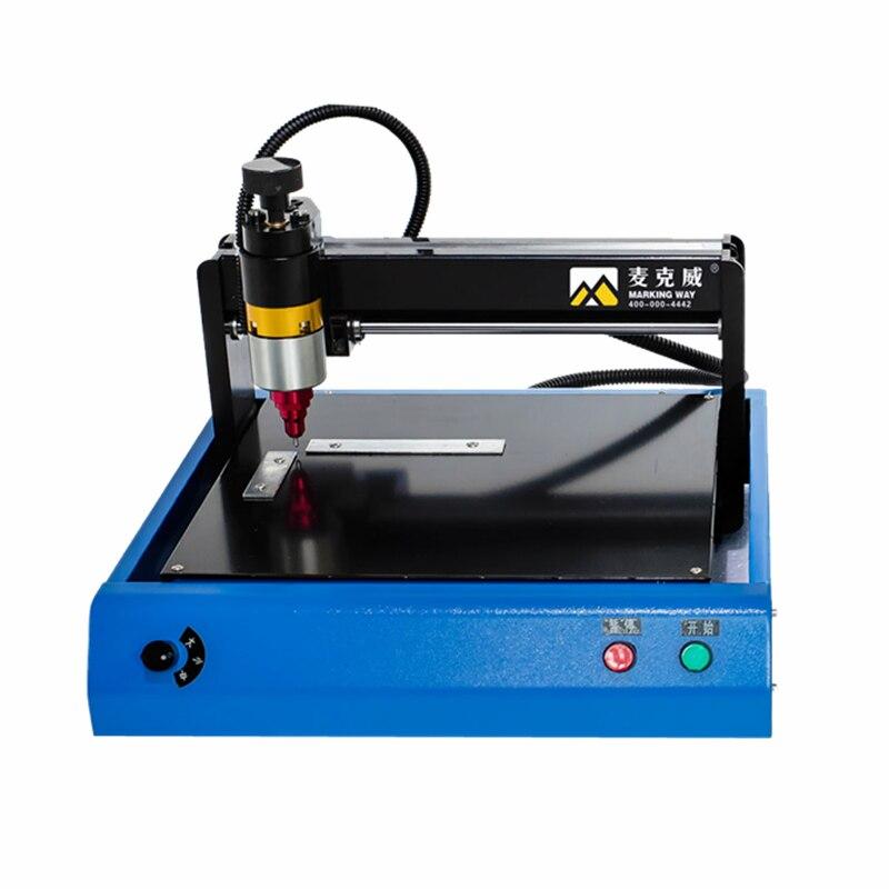 30x20 cm/20x15 cm Tragbare smart edelstahl metall drucker typenschild schneiden plotter code elektrische kennzeichnung gravur maschine