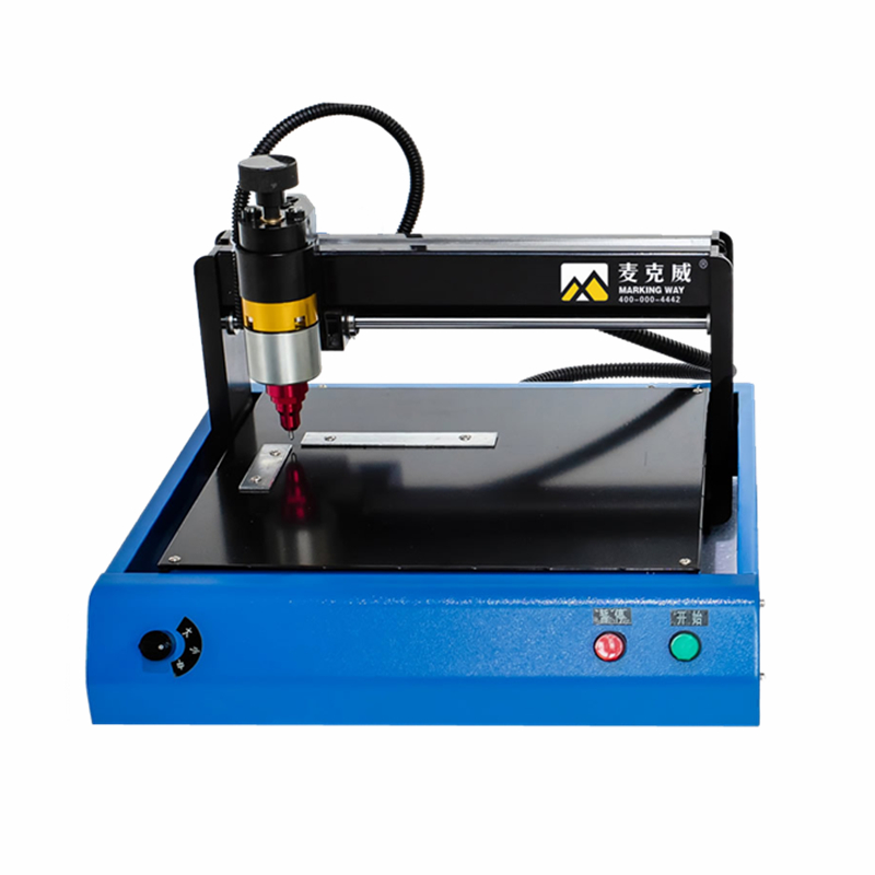 Portable Smart Stainless Steel Metal Printer Nameplate Cutting Plotter Code Electric Marking Engraving Machine