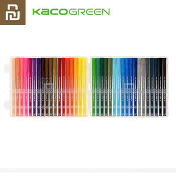 Youpin KACO ARTIST 36 Colors Double Tip Watercolor Pens Painting Graffiti Art Markers Drawing Set Non-toxic Safe Children Gift - DISCOUNT ITEM  11 OFF Education & Office Supplies