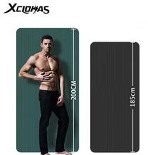Толстый коврик для йоги XC LOHAS, дополнительный коврик для занятий спортом, фитнесом, безвкусными подушечками, коврик для гимнастики и фитнеса...