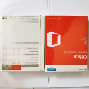 Image 1 - Microsoft Office Home & Student 2016 License For Windows Retail Boxed License Product Key Card