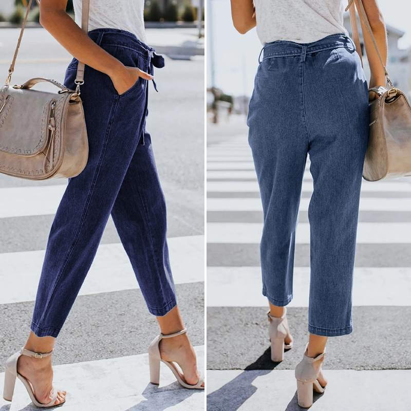 ZANZEA Plus Size Women Harem Pants Lady Casual Loose Solid Pockets Long Trousers Female Vintage Cotton Linen Bottoms Streetwear