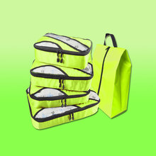 цена на Nylon Packing Cube Luggage Organizer/Waterproof/Double Zip Travel Bag Female/Men's/Hand Luggage/Women's/Kids/Nylon Travel Bag