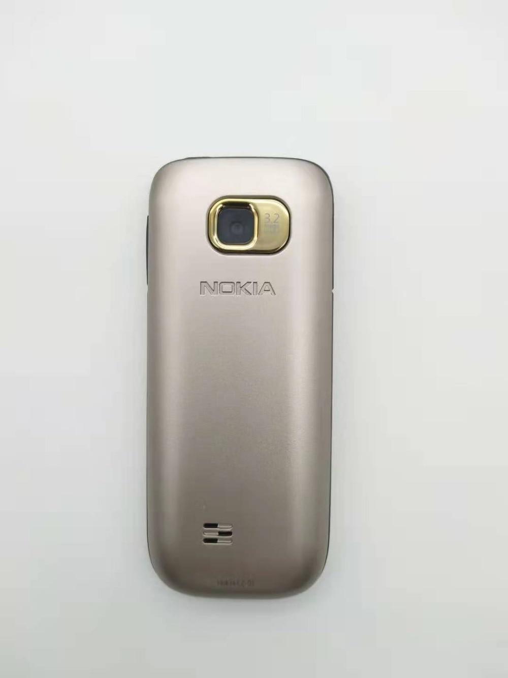 """Nokia C2-01 разблокированный мобильный телефон C2 2,"""" 3.2MP Bluetooth русский и Иврит Клавиатура Восстановленный GSM/WCDMA 3g телефон"""