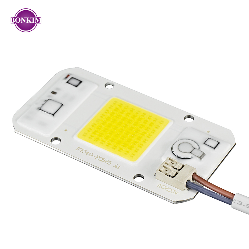 LED COB Chip Grow LED Light 110V 220V 20W 30W 50W Cold Warm White Day White No Welding Dimmable SpotlightFloodlight DIY Lighting