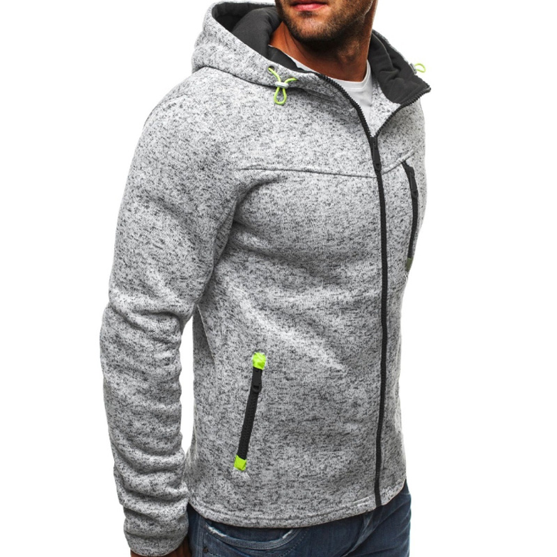 Зимний мужской комплект, флисовые толстовки, теплые толстые повседневные толстовки, комплекты из 2 предметов, мужская спортивная одежда, сп... - 5