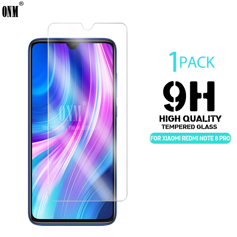 Tempered Glass For Xiaomi Redmi Note 8T / Note 8 Pro Screen Protector 2.5D 9H Tempered Glass For Redmi Note 8 Protective Film
