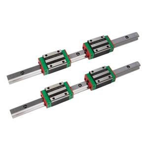 Image 2 - 500mm 2600mm HGH סדרת כבד עומס כדור סוג מעקה מדריך ליניארי 30mm HGR30 עם בלוק HGH30CA HGW30 CC עבור מכונת חיתוך