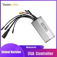 PASION E DC Sine Waveกันน้ำ 35A Controller 36/48V 750Wมอเตอร์ไฟฟ้าจักรยานController KT Controller LCD3/8