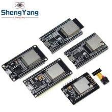1 pces esp32 placa de desenvolvimento wifi + bluetooth ultra-baixo consumo de energia núcleo duplo ESP-32 ESP-32S esp 32 ESP32-CAM ESP-WROOM-32