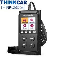 THINKCAR ThinkOBD 20 OBD 2 tarayıcı profesyonel araç teşhis aracı otomotiv tarayıcı kod okuyucu motor kontrol OBD2 fonksiyonu