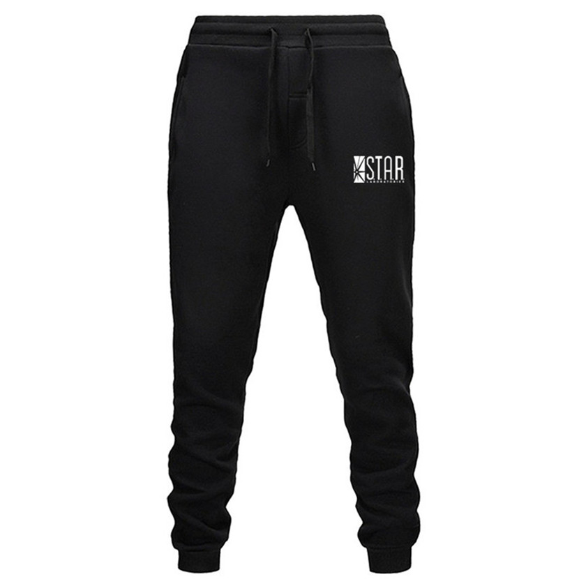2020 Fall Men's STAR S.T.A.R.labs Trousers Jogger Men's Pants Casual Slim Fit Men's Fitness Sweatpants Big Size Wholesale