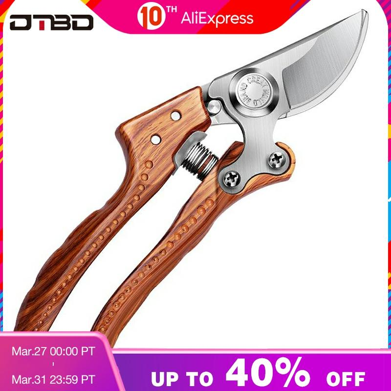 DTBD Garden Scissors Grafting Tool Fruit Tree Pruning Shears Bonsai Pruners Garden Shears Gardening Secateurs Easy Pruners
