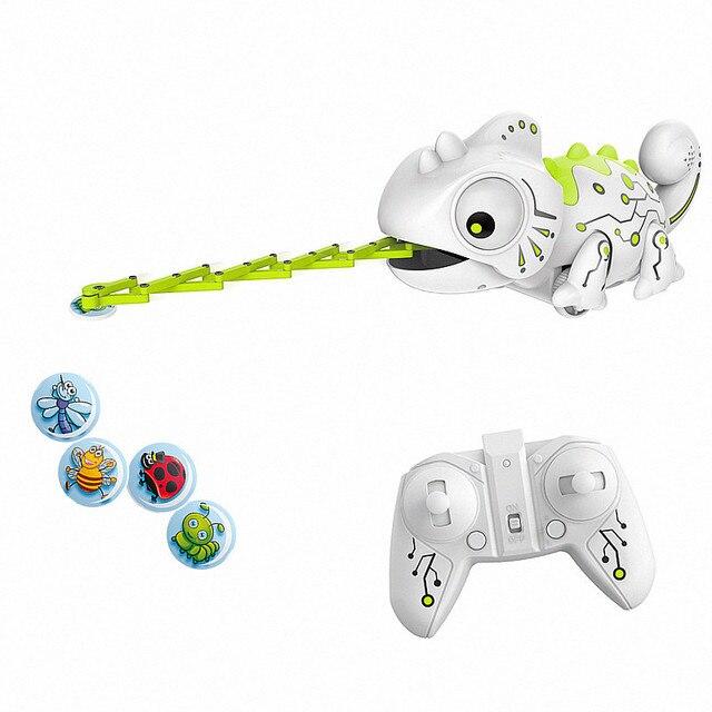 Lézard télécommandé caméléon, Robot Intelligent pour enfants, jouet cadeau danniversaire pour enfants, jeu amusant, télécommande, animaux reptiles, 2.4G