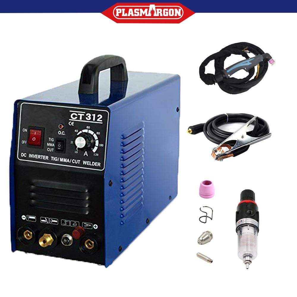 CUT/TIG/MMA Schweißer Schweiß Maschine Plasma Cutter CT312P 110/220V