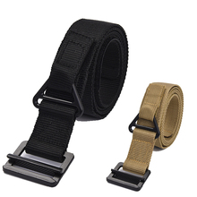 Tactical Military Nylon Belt Men Army Combat Training Hunting Accessories Waist Support 3 Size