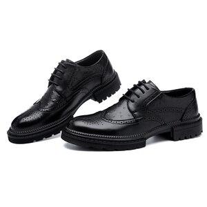 Men Dress Shoes Handmade Brogu