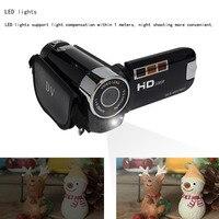 1080P подарков цифровой Камера Высокое разрешение светодиодный светильник с таймером для селфи с защитой от вибрации Ночное видение ясно Пор...