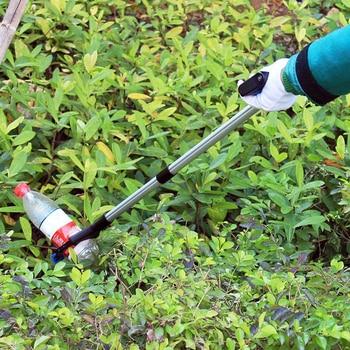 ¡Portátil de basura recoger a Grabber pinza mano plegable herramienta limpieza jardín Mango para un agarre cómodo!
