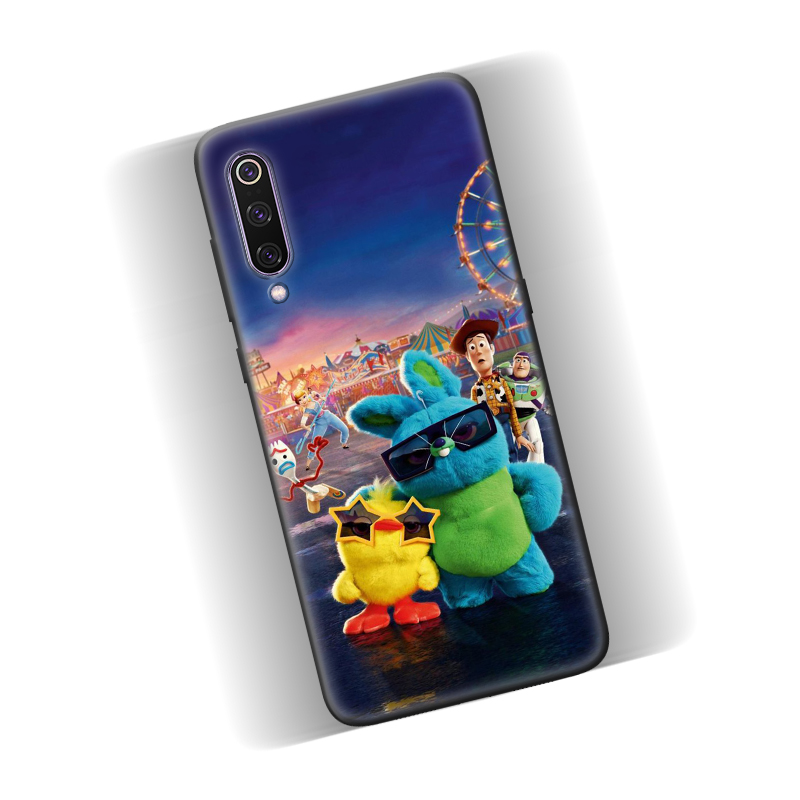 Cartoon Toy Story 4 Forky Silicone Case Cover For Xiaomi Mi Note 10 10Pro CC9 CC9E Cc9pro 8 9 SE 9T A1 A2 Lite Pro 5G 5X 6X