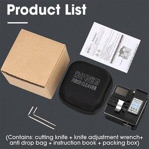 Image 5 - Novo SKL S2 fiber cleaver cabo faca de corte fttt fibra óptica faca ferramentas cortador de alta precisão fibra cleavers 16 lâmina de superfície