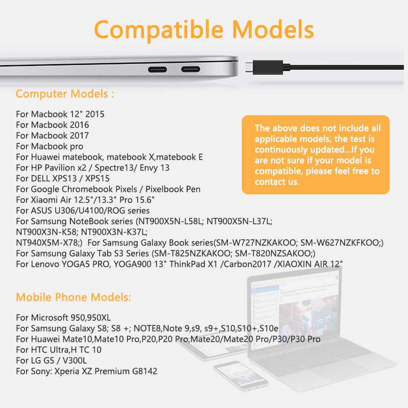 USBC TypeC 3,1-HDMI кабель конвертер HDTV проектор шнур провода линии адаптер для Macbook LG huawei samsung S10 S8 Plus Note8 9