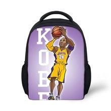 Модный рюкзак для детского сада с рисунком Коби детские школьные