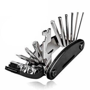 15 In 1 Bike Multi Repair Tool Kit Bycicle Cycling Repair Tool Wrench Screwdriver Kit Multi Functions Cycling Repair Tool Wrenc