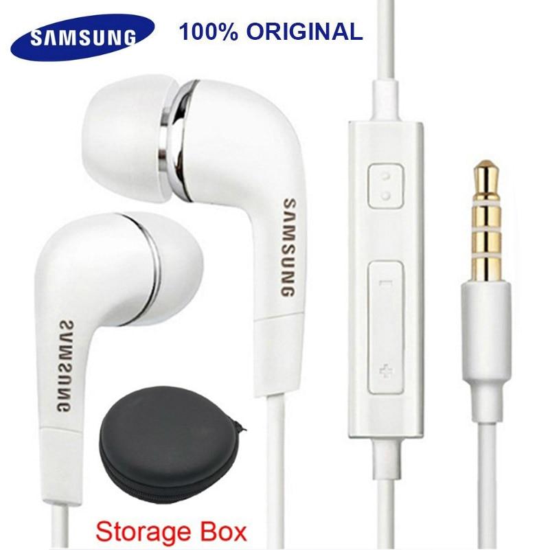 Fones de ouvido samsung ehs64 fones de ouvido com microfone embutido 3.5mm fone de ouvido com fio para smartphones