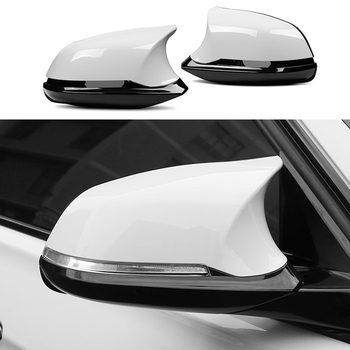 For BMW F20 F21 F22 F23 F30 F31 F32 F33 F34 F35 E84 1 2 3 4 series Replacement Carbon Fiber Mirror Assembly Covers Caps Shell