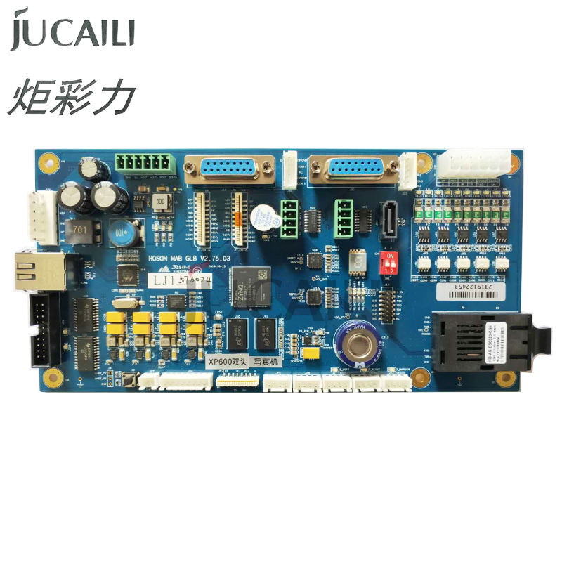 Jucaili Double head Hoson Board for Epson xp600/4720 printhead board kit for ECO Solvent/ UV flatbed printer Network version