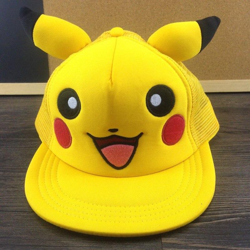 2020-anime-font-b-pokemon-b-font-go-cosplay-pikachu-cute-kawaii-adult-child-cool-summer-headdress-hat-high-quality-clothing-accessories-props
