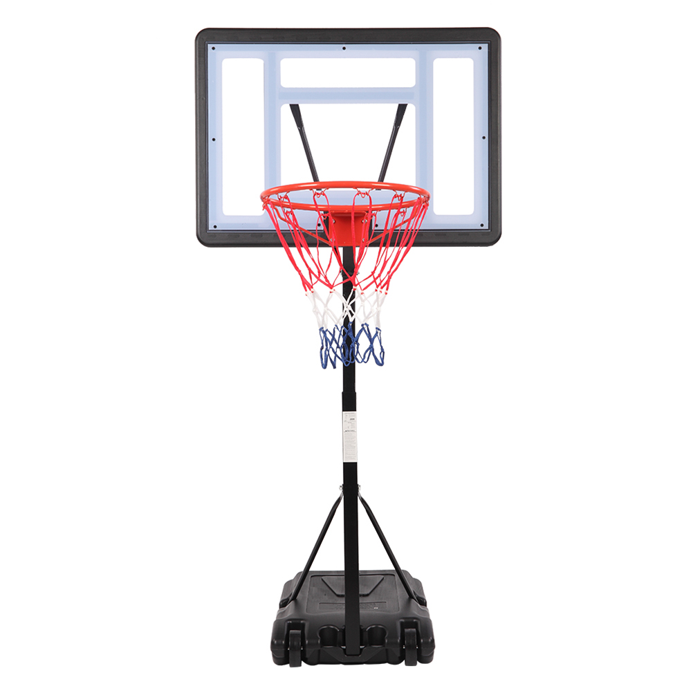 1 Set Basketball Stand Practical Portable Durable Sports Gear Basketball Frame Basketball Rack For Outside Outdoor Daily Use