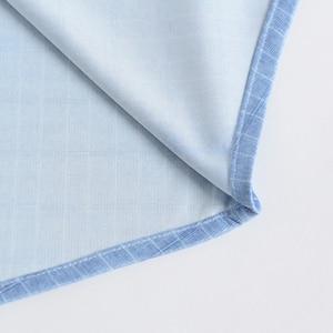 Image 4 - Holiday Casual Short Sleeve Checkered Printed Shirts Pocket less Design Standard fit Comfortable Soft Thin Mens Plaid Shirt