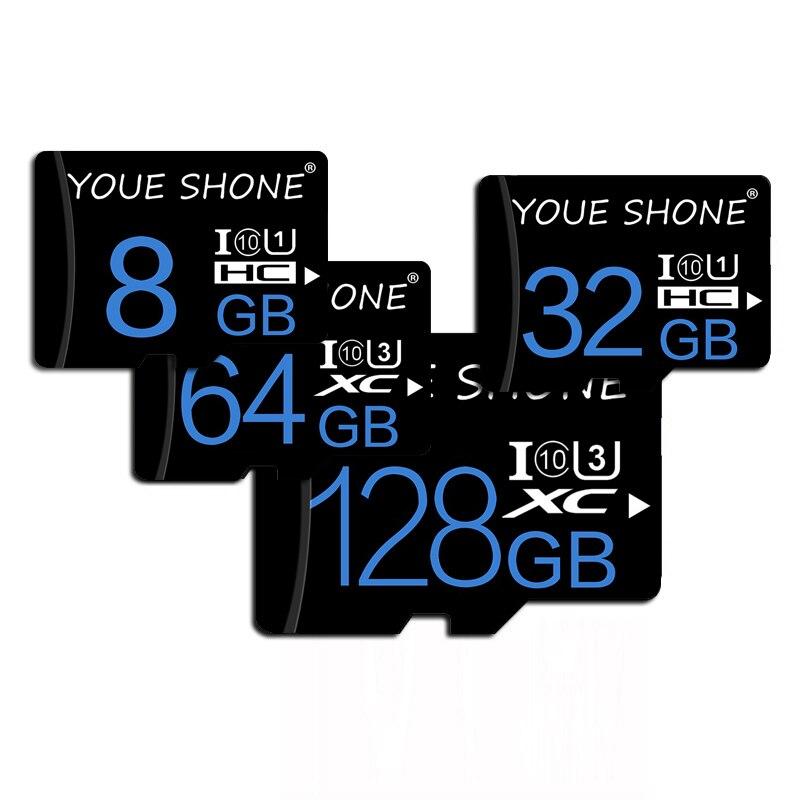 Real Capacity Memory Card Micro SD 128GB 64GB 32GB 16GB 8GB MicroSDXC/SDHC Class 10 Mini TF Cards Red Trans Flash Micro Sd Card