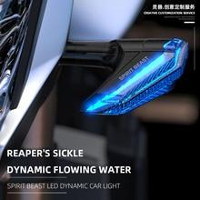 دراجة نارية العالمي 12 فولت بدوره مصباح إشارة مصباح إشارة s مؤشر LED مصباح لهوندا CBR 500R 650R BMW R1200GS سوزوكي GSX 750